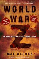 Cover of ''World War Z' by Max Brooks